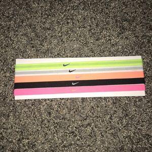 Nike Set of 5 Headbands